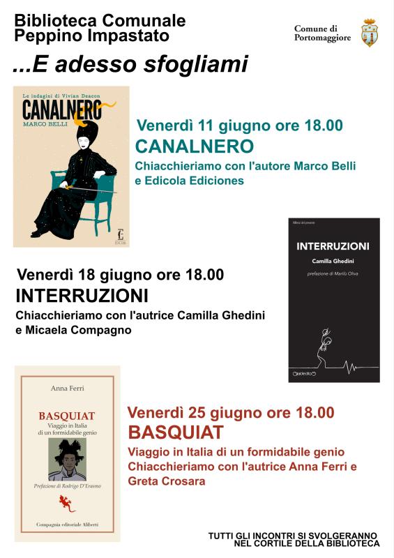 Biblioteca Peppino Impastato...