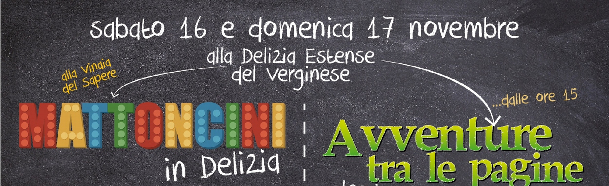 Weekend alla Delizia del Verginese